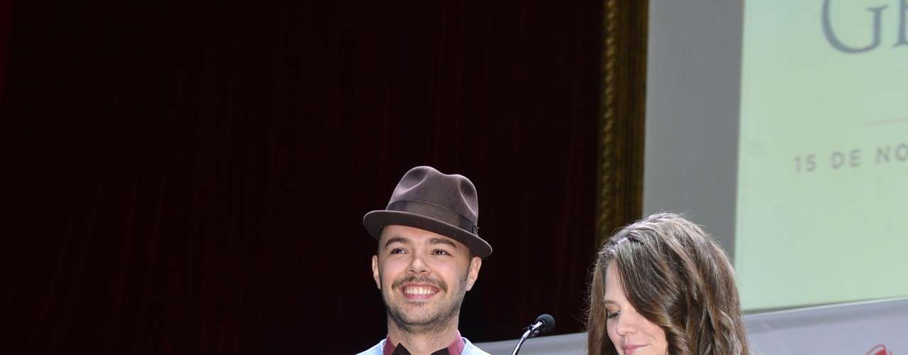 Mexican pop duo Jesse y Joy are in second place for most nominations with five including Album of the Year for \