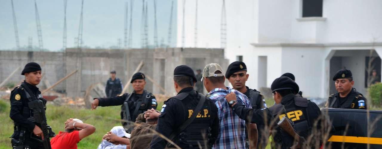 El viceministro guatemalteco del Interior, Julio Rivera, dijo a medios locales que las fuerzas de seguridad del país tienen \