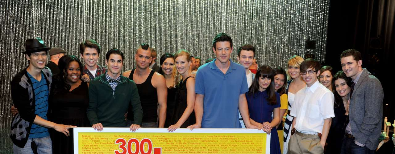 The Glee cast and their covers got them the most Hot 100 entries EVER with 204 songs.