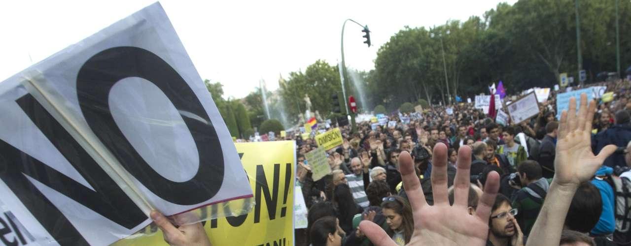 Manifestantes del #29S en Neptuno