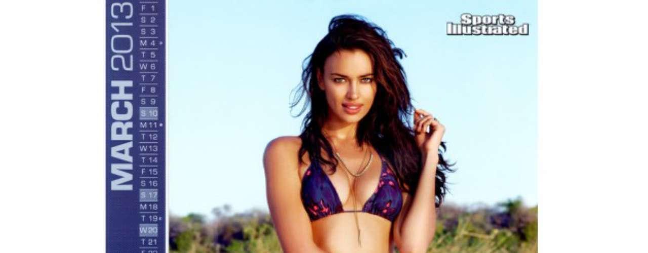 La modelo y también novia del futbolista Cristiano Ronaldo, Irina Shayk, ha modelado para firmas como Guess, Lacoste y La Perla. De 2007 a 2009 fue embajadora de la marca de lencería Intimissimi.