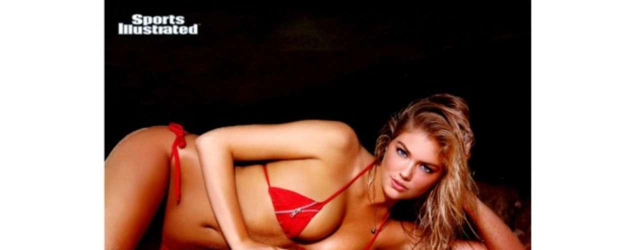 Kate Upton fue conocida a partir de su participación en Sports Illustrated en 2011 y ese mismo año fue nombrada 'novata del año'.