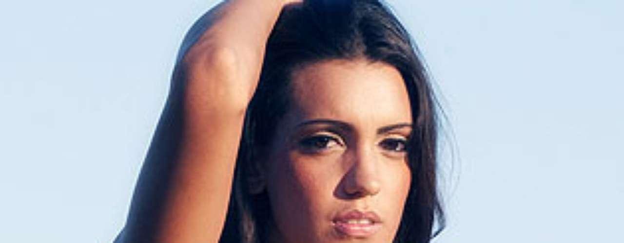 Miss Argentina - Daiana Incandela. Tiene 23 años y mide 1.83 metros de estatura.