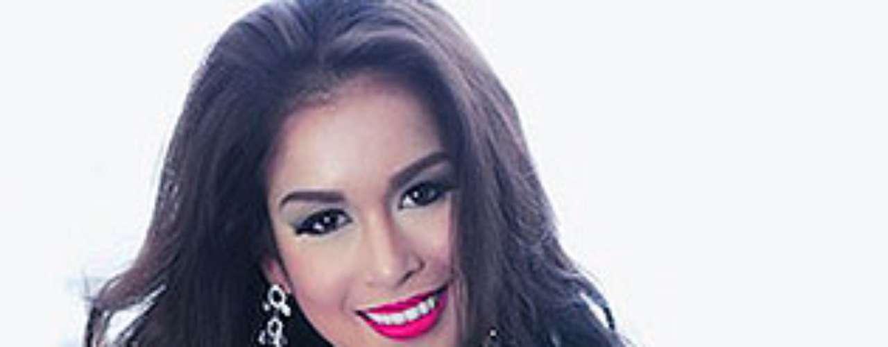 Miss Filipinas - Nicole Cassandra Schmitz. Tiene 23 años y mide 1,73 metros de estatura.