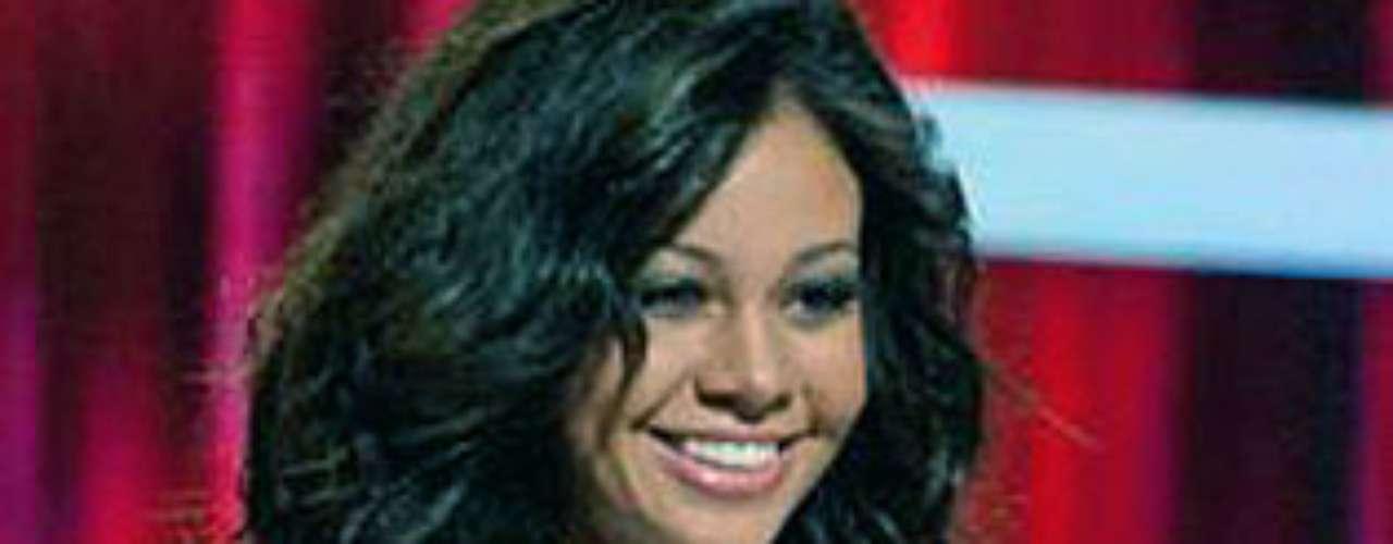 Miss Haití - Anedie Azael. Tiene 22 años de edad y mide 1,77 metros de estatura.