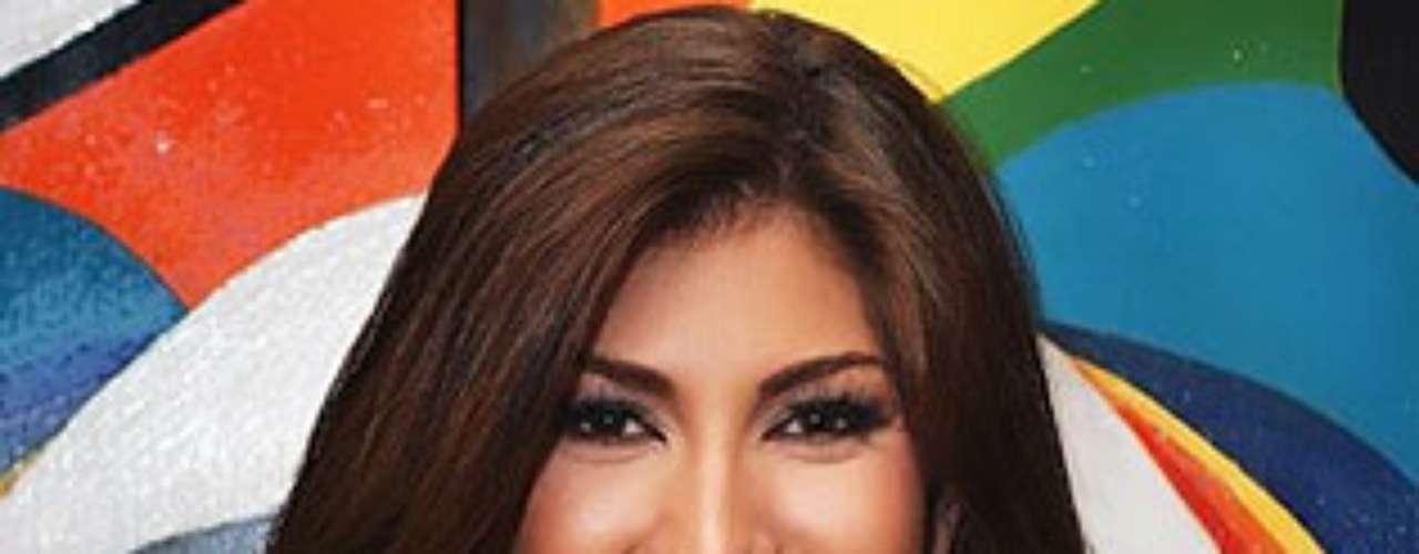 Miss Puerto Rico - Ashley Ruiz. Tiene 23 años de edad y mide 1.76 metros de estatura.