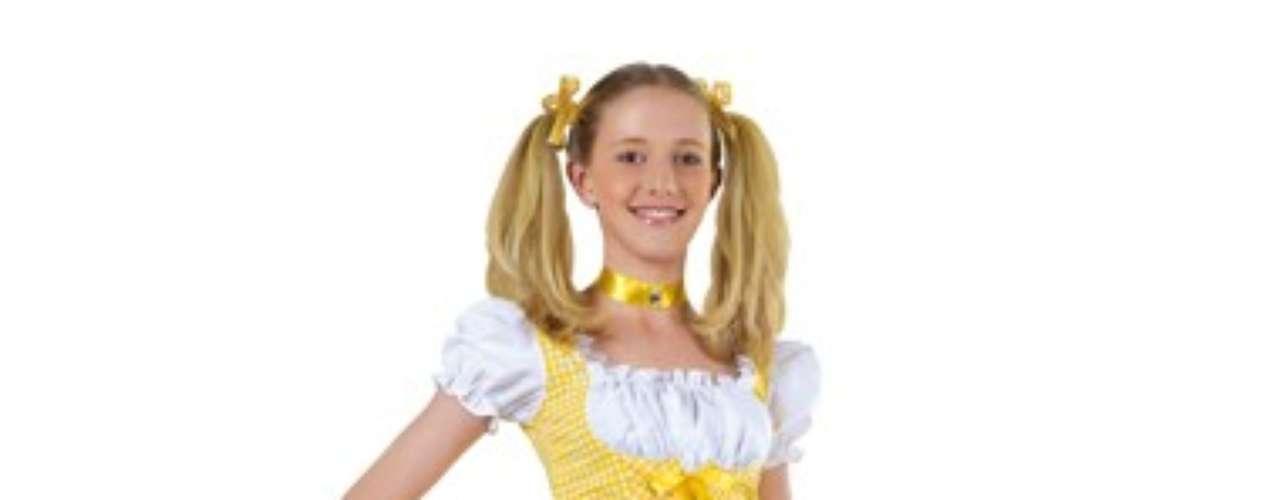 Para estar a tono con las niñas, ¿qué mejor que el traje de Hello Kitty? Sensualidad y dulzura y hasta donde quieras en la noche de Halloween