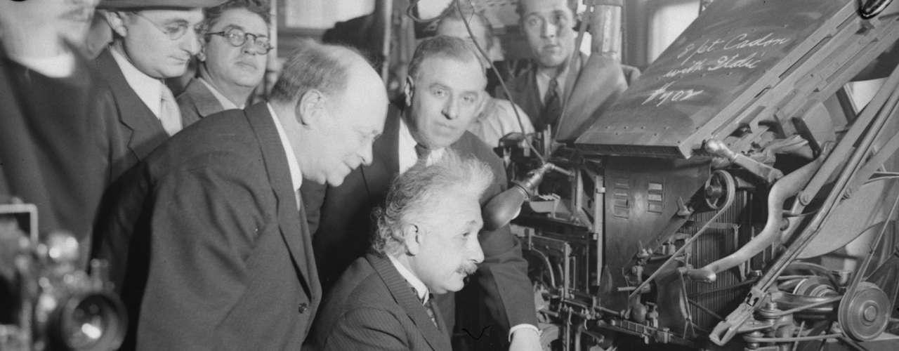 Einstein escribió la carta en alemán, el 3 de enero de 1954, en la Universidad de Princeton y estaba dirigida al filósofo Erik Gutkind después de leer el libro de Erik Gutkind \