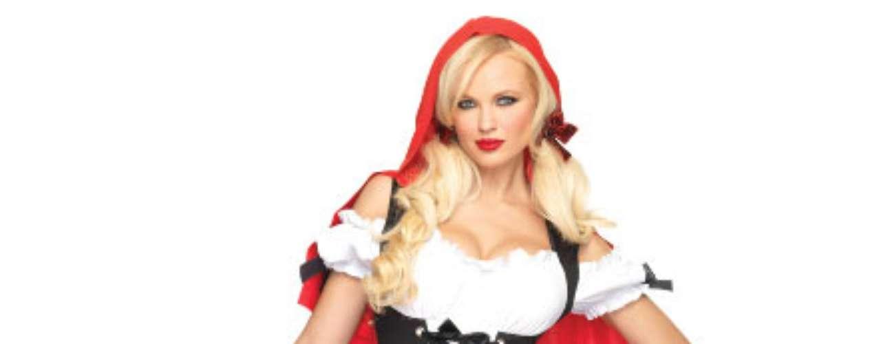 Cuidado con el lobo feroz en este traje de Caperucita Roja!  Reinventar un libro de cuentos de hadas, una fantasía hecha realidad!