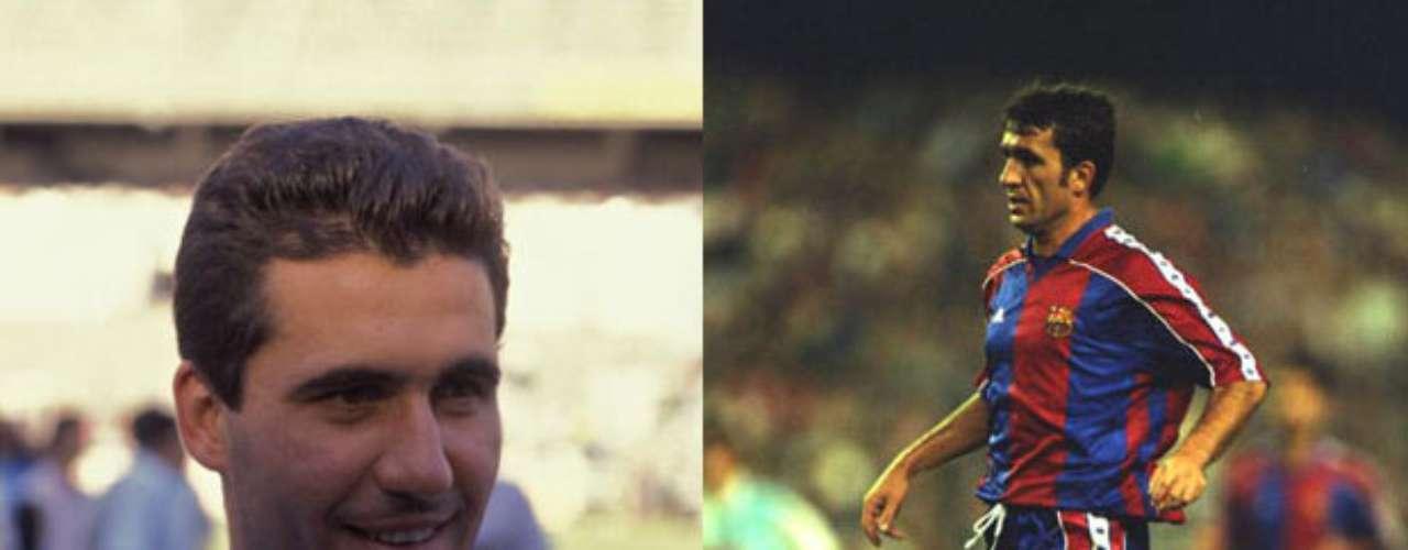 El rumano Gheorge Hagi portó las playeras de los dos clubes más grandes de España en los 90.