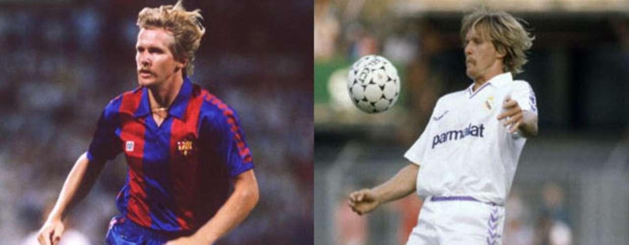 Bernd Schuster brilló en el medio campo de ambos equipos, principalmente en la década de los 80. El alemán primero integró las filas barcelonistas.