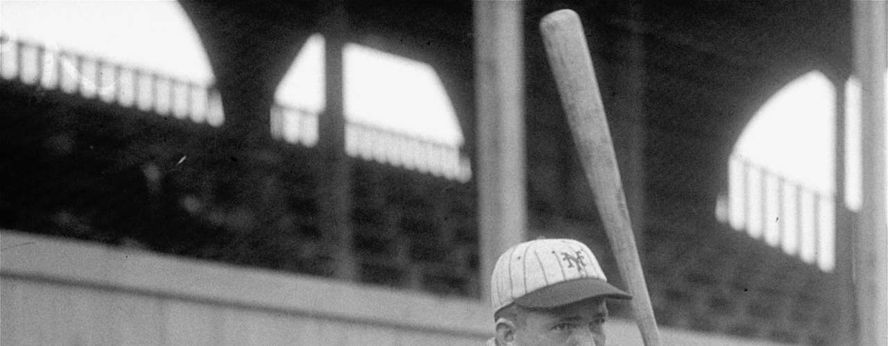 The St. Louis Cardinals' Rogers Hornsby was the first man to win the Triple Crown twice. In 1922, the 'Rajah' hit .401 with 42 HR and 152 RBI. Three years later, Hornsby batted .403 and swatted 39 HR to go with 143 RBI.