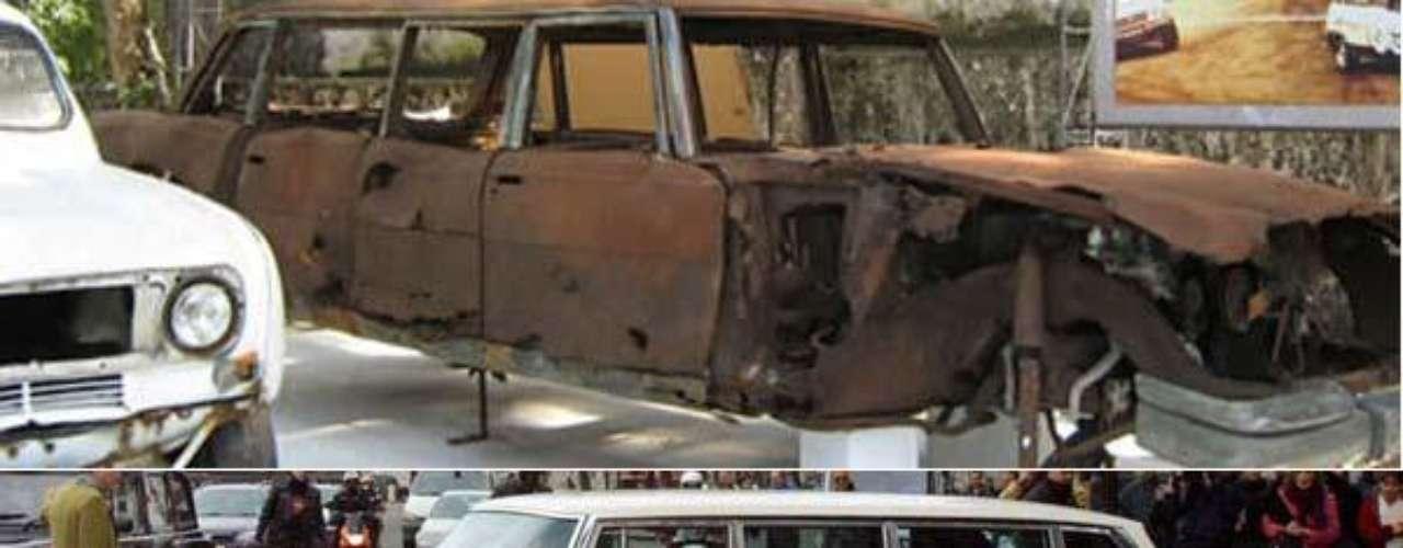 Fotos La colección de autos de Pablo Escobar