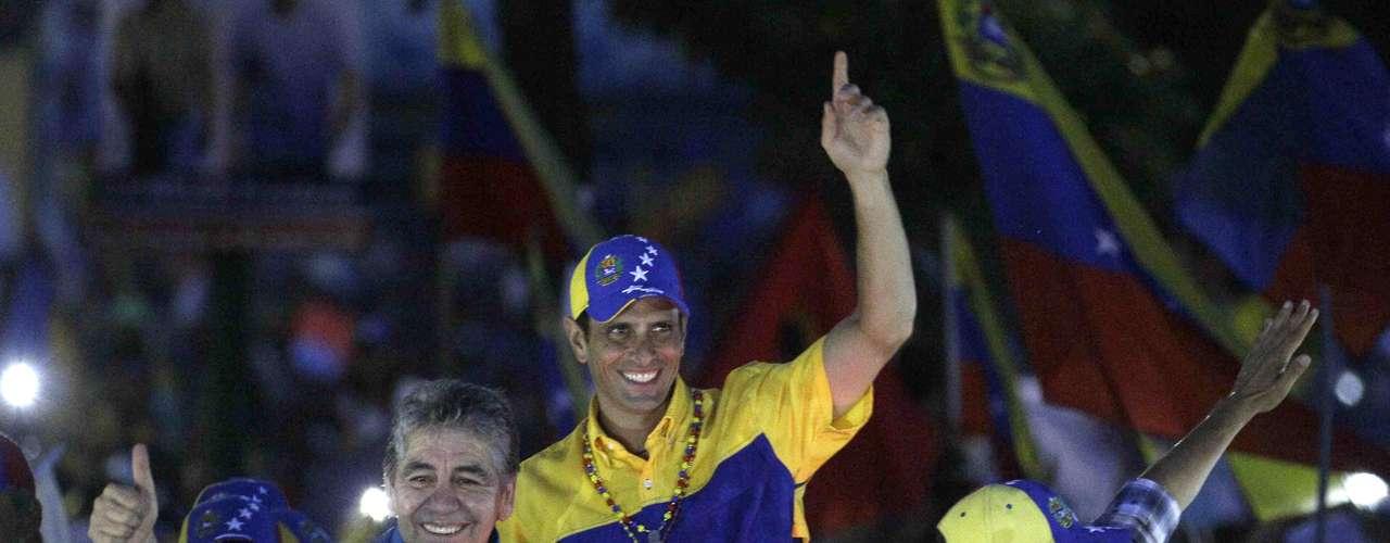 En una posterior entrevista televisiva, Capriles manifestó su intención de \