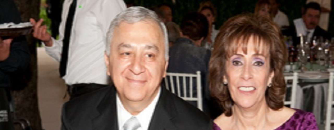 Emilio Chuayffet y Olga Soto.