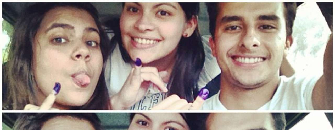 Los votantes venezolanos usan el hashtag #Yoyavoté para publicar en Twitter las imágenes testimonio de su sufragio.