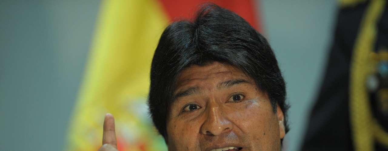 Por su parte el presidente de Bolivia, Evo Morales, aseguró que el resultado es el \