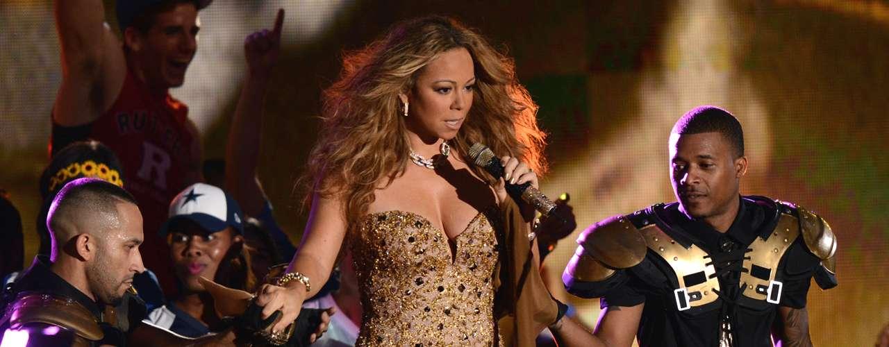 Pocas cantantes pueden presumir la trayectoria, talento y carisma de Mariah Carey, quien se impuso en la lista de Billboard con el quinto lugar.