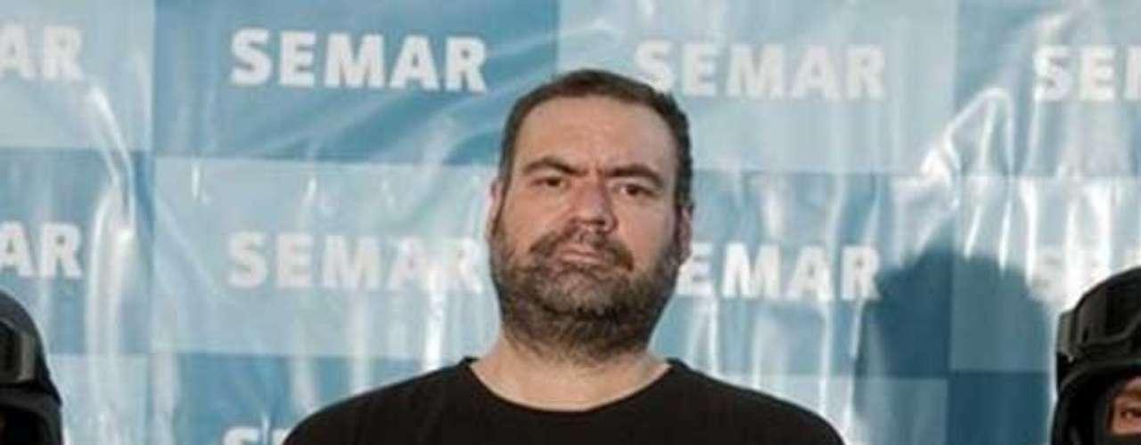 12-sep-2010.- Es detenido Sergio Villarreal 'El Grande', cabecilla del cártel de los Beltrán Leyva.