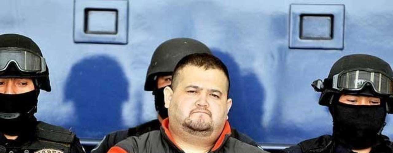 12-ene-2010: Teodoro García Simental, 'El Teo', es detenido en la ciudad de La Paz.