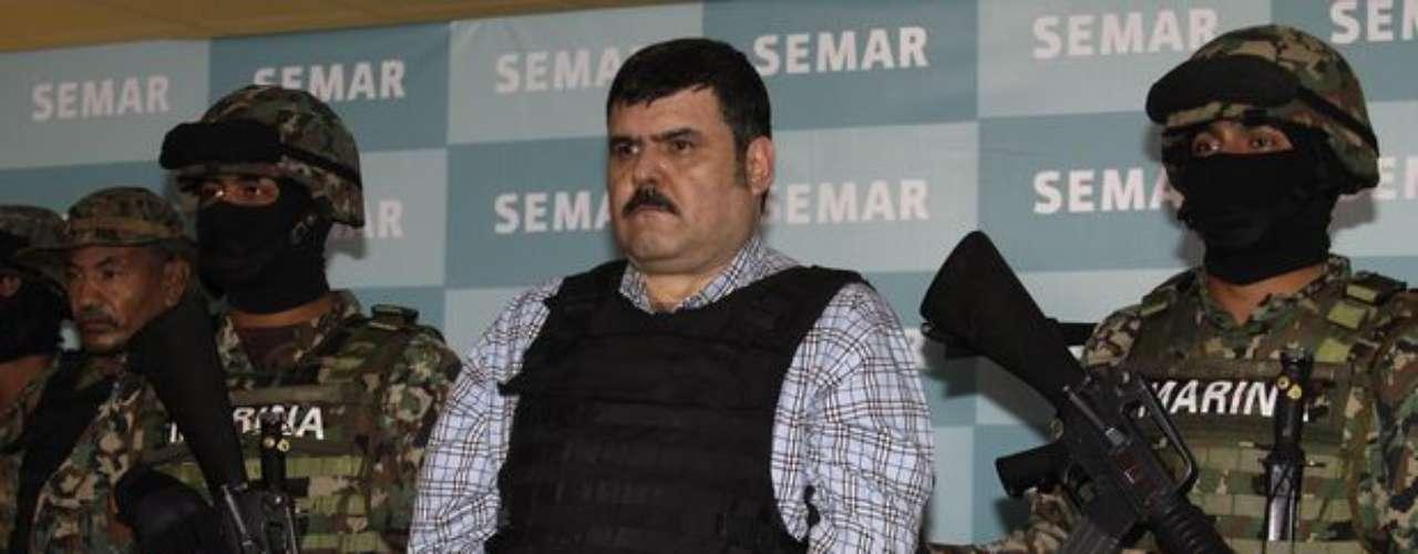 13-sept-2012.- Elementos de la Armada de México capturaron en el estado de Tamaulipas al presunto líder del cartel del Golfo, Jorge Eduardo Costilla Sánchez, alias El Coss.