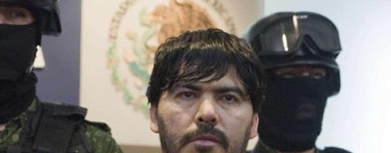 12-may-2011.- Martín Beltrán Coronel 'El Águila', considerado uno de los cuatro principales líderes del Cartel de Sinaloa, es detenido en Zapopan, Jalisco.