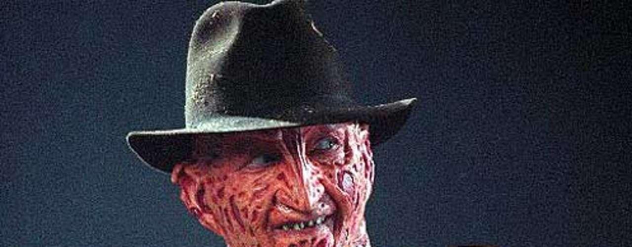 FREDY: Fredy es el nombre del fatídico personaje del clásico de terror A Nightmare on Elm Street (conocida en español como Pesadilla). Fredy Krueger aún es de los personajes más temidos.