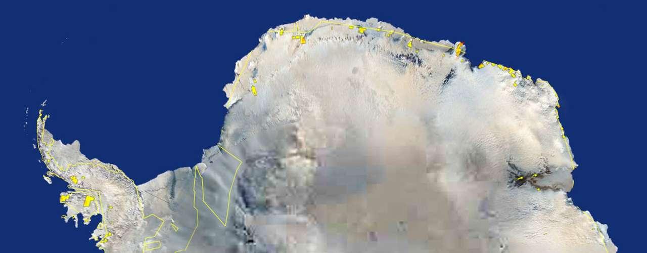 El hielo ártico responde más directamente al calor. En la Antártida, el motor es el viento, dicen Maksym y otros científicos. Cambios en la dirección del viento están empujando ahora el hielo más hacia el norte.
