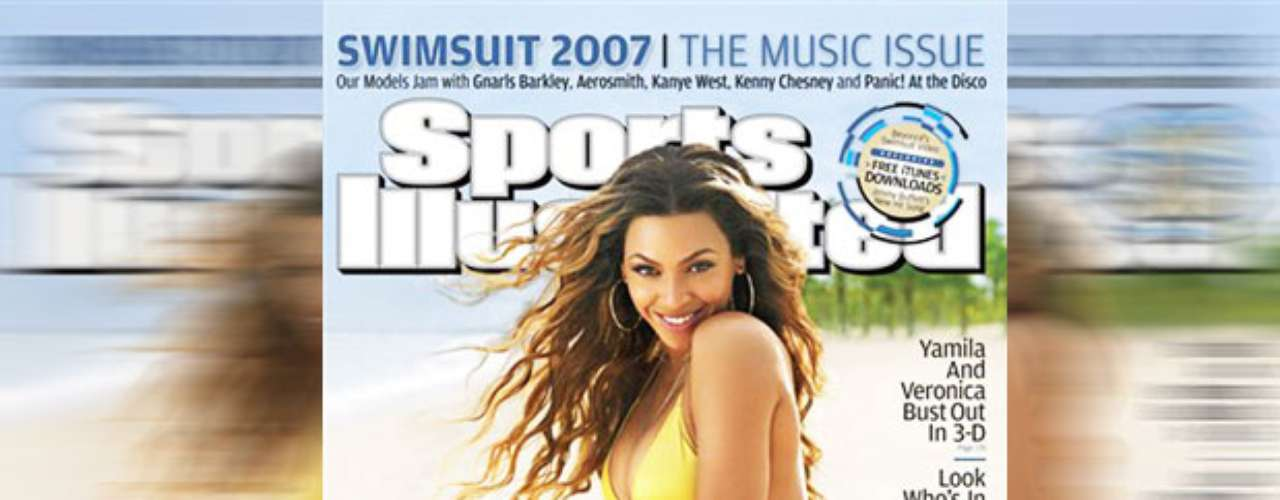 Sports fans love her. She was the only non-model, non-athlete to cover Sports Illustrated in 2007.