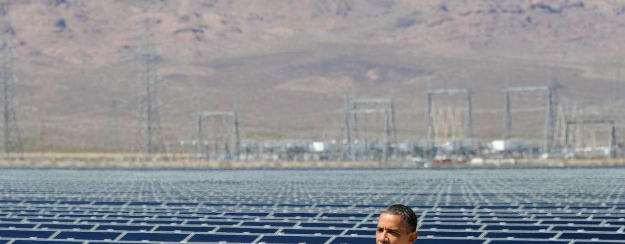 Obama asegura que 'hemos duplicado el uso de energía renovable'. Esto se aplica solamente a la energía eólica, pero el resto de las energías renovables, como la geotermal o la hidroeléctrica, no ha mejorado.