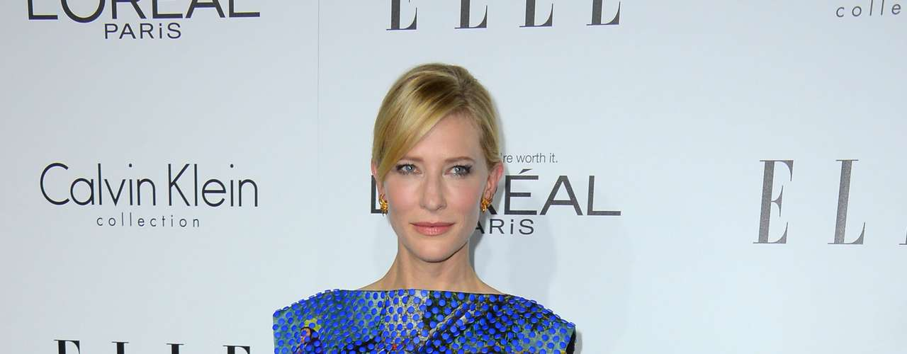 Cate Blanchett has been on trend this season, this time wearing Proenza Schouler.