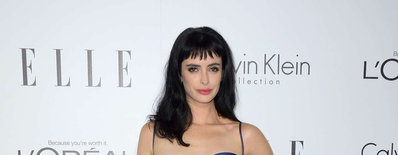 The 'B----' Krysten Ritter looks 'ah-mah-zing' in this ensemble.