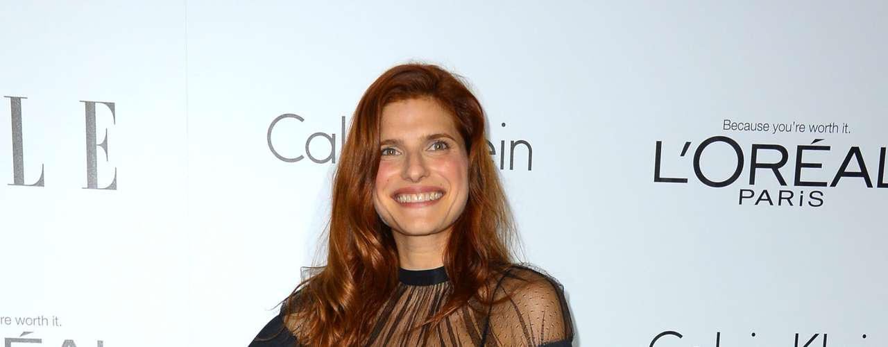 Yeah, there is always one that totally misses the point. At this event it was Lake Bell.