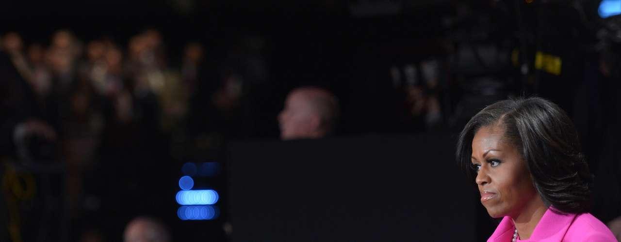 Pero parece que los ataques de Romney más que afectar al mandatario, alteraron a la primera dama, que no pudo ocultar su enojo.
