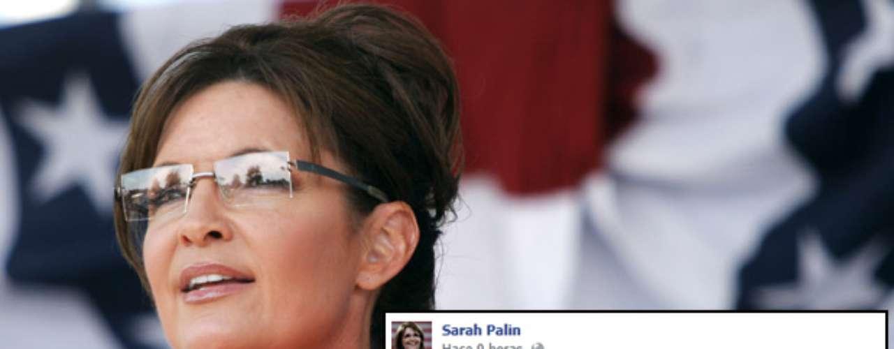 La ex candidata a la vicepresidencia por el partido republicano, Sarah Palin, se congratuló por el segundo debate debate presidencial entre Romney y Obama, y exhortó a los estadounidenses a acudir a votar el próximo 6 de noviembre.