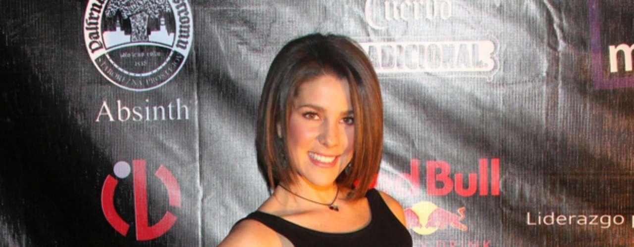 Regina Murguía, novia del cantante Yahir, también se dio cita en el
