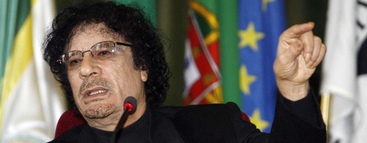 Hanaa Gadafi (hija adoptiva): Muamar Gadafi dijo varias veces que su hija adoptiva Hanaa había muerto en un ataque aéreo de Estados Unidos en 1986, cuando apenas tenía 18 meses de edad. Sin embargo, desde la revolución ha habido cada vez más evidencias de que Hanaa sigue viva, aunque se desconoce su ubicación actual.
