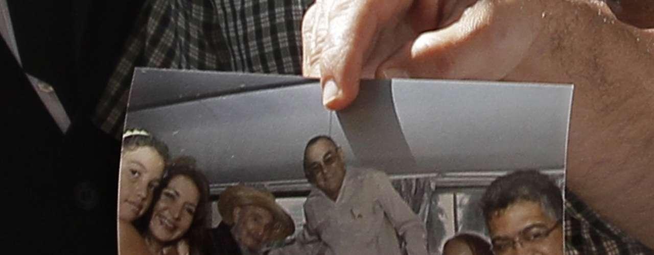 Fidel Castro, que en la foto con Jaua aparece sonriente, \