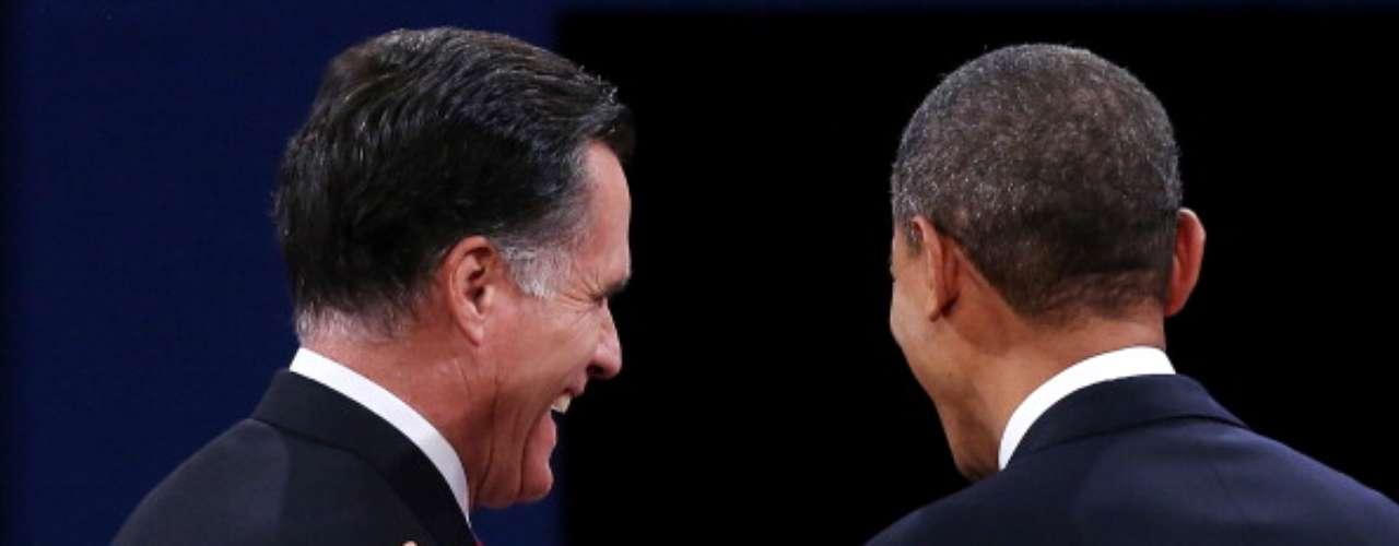 Un golpe muy duro de Obama, fue cuando Romney estaba criticando la forma y el manejo de la política exterior del actual presidente. Entonces, Barack disparó: \