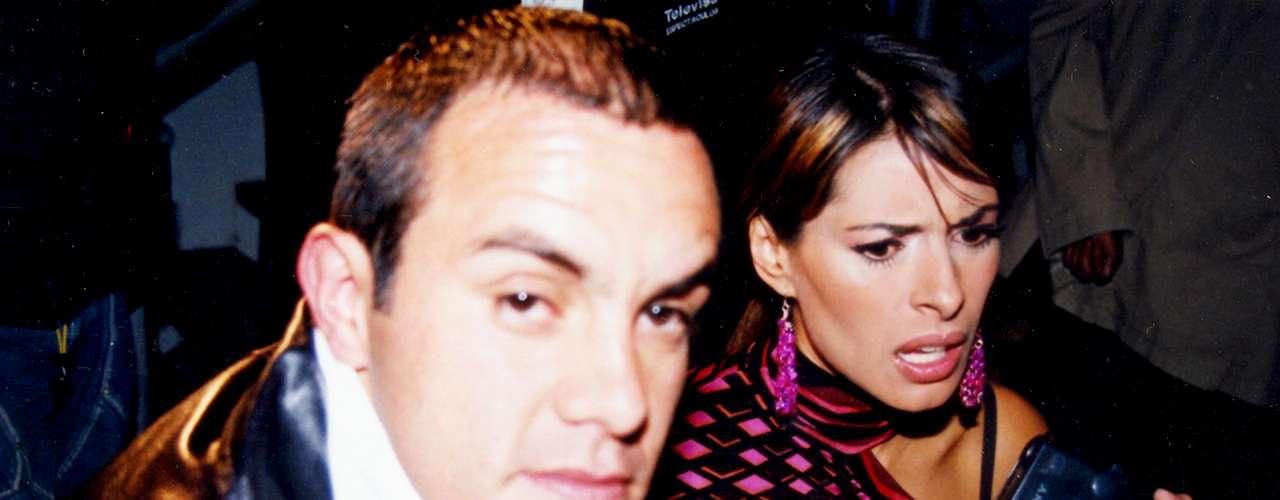 El futbolista Cuauhtémoc Blanco mantuvo una relación sentimental de varios meses con la actriz Galilea Montijo. Al final tronaron por las diversas infidelidades del atleta.