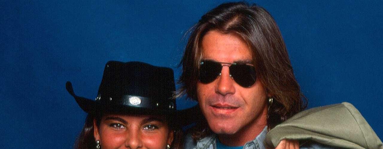 Kate del Castillo y Fernando Ciangherotti fueron pareja, brevemente, en 1992.