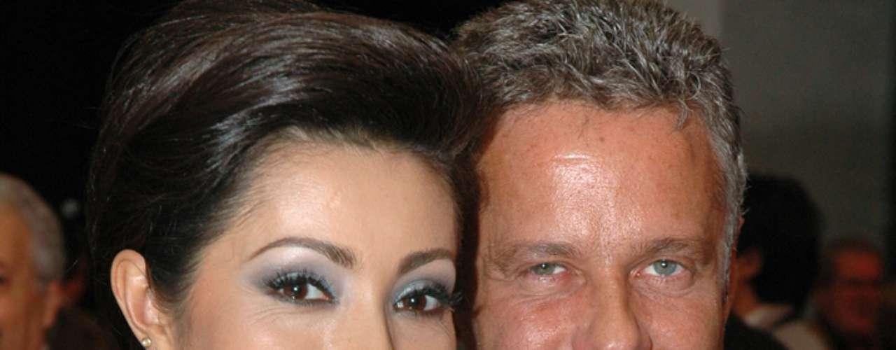 Paty Díaz y Alexis Ayala se separaron en 2006, luego de dos años de relación.