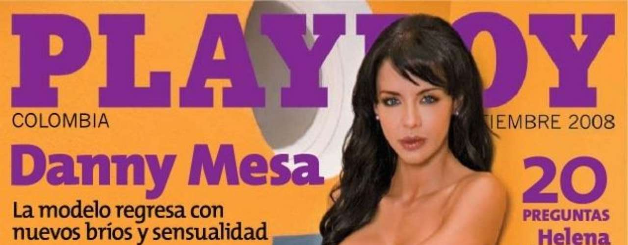 En septiembre de 2008,  Danny Mesa, una empresaria y modelo paisa, asumió el reto de desnudarse a sus 33 años.