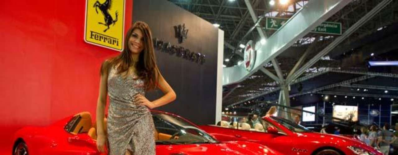 Fotos Las chicas del Auto Show de Sao Paulo 2012
