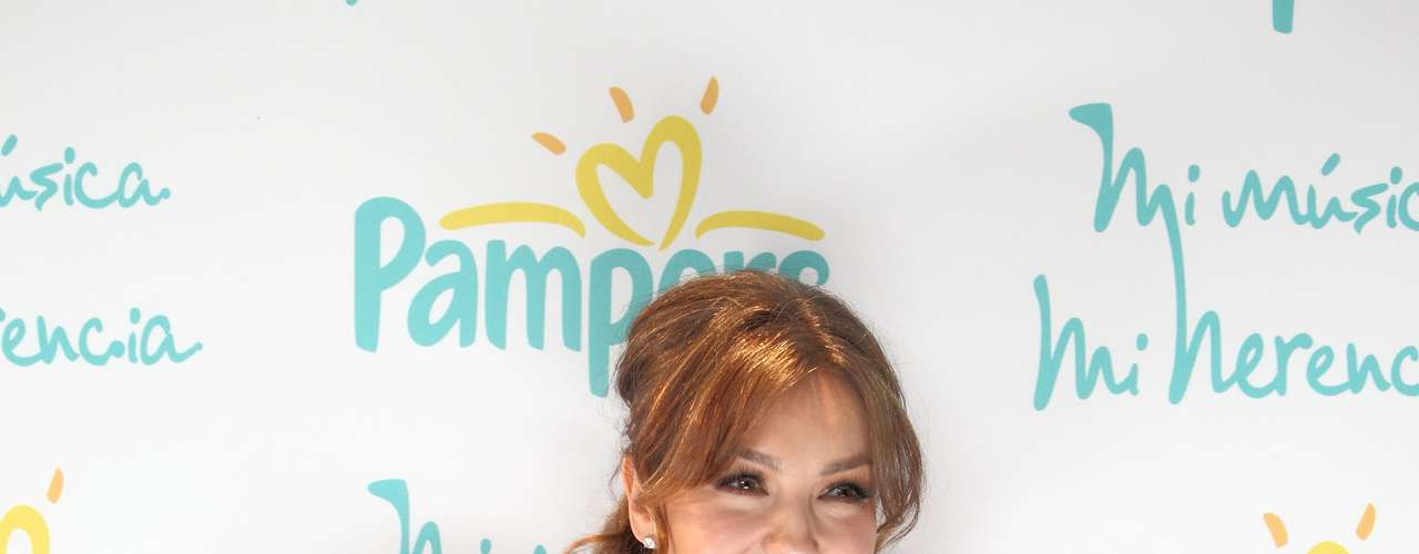 Thalía, who is currently promoting her new album \
