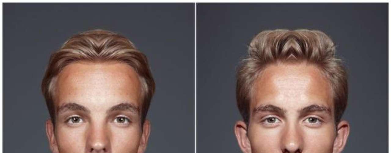 Para probar la afirmación, el fotógrafo australiano Julian Wolkenstein produjo una serie de imágenes en las cuales los rostros de modelos eran emparejadas, formando caras perfectamente simétricas.