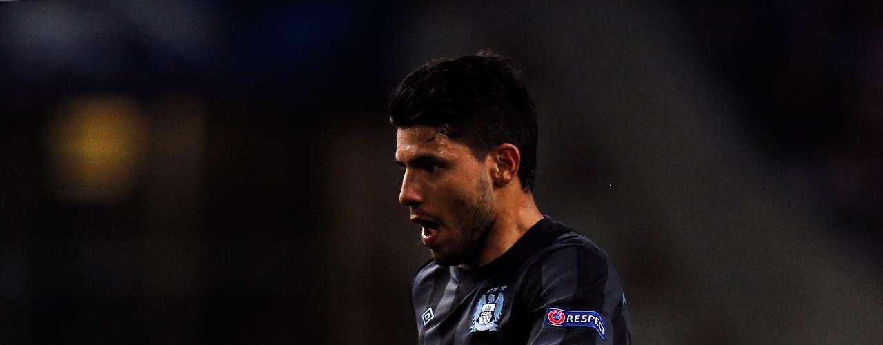 Sergio Agüero - Manchester City - Inglaterra