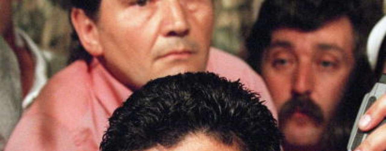 Pocos días después estalló la bomba: Maradona, expulsado del Mundial y suspendido 15 meses por dar positivo por 5 sustancias.