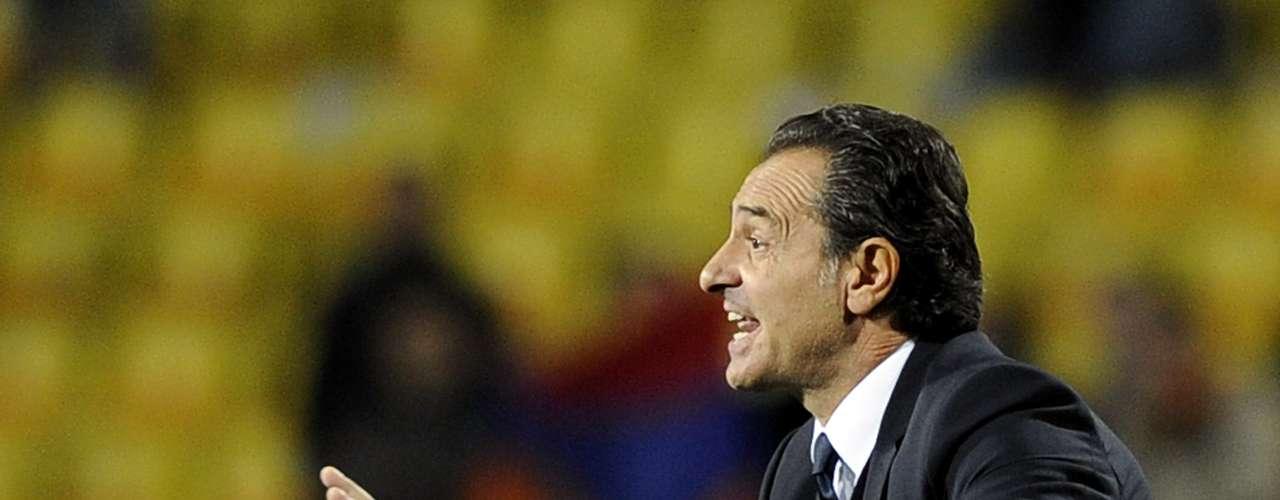 Cesare Prandelli - Selección de Italia (Finalista Eurocopa 2012)
