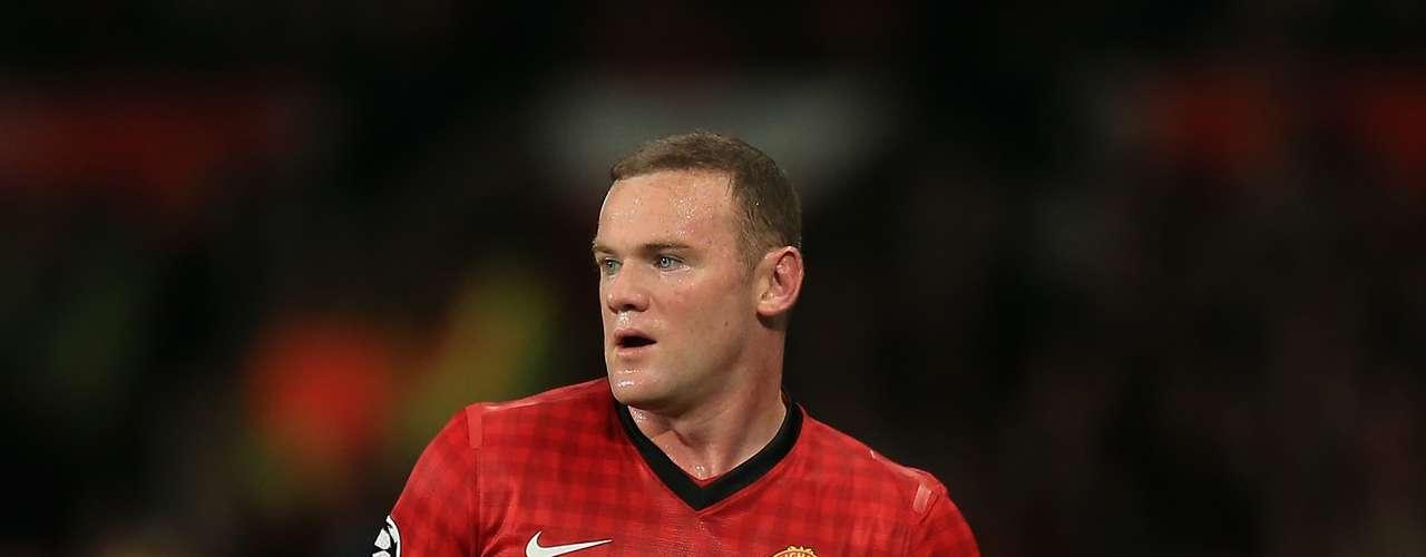 Wayne Rooney - Manchester United - Inglaterra